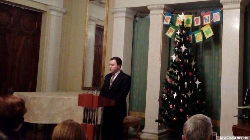 Лекция в Музее политической истории «Моряки штурмуют Зимний», Санкт-Петербург