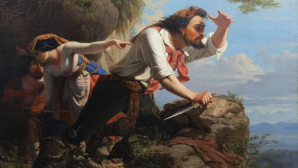 Орест Тимашевский. Разбойники. 1857