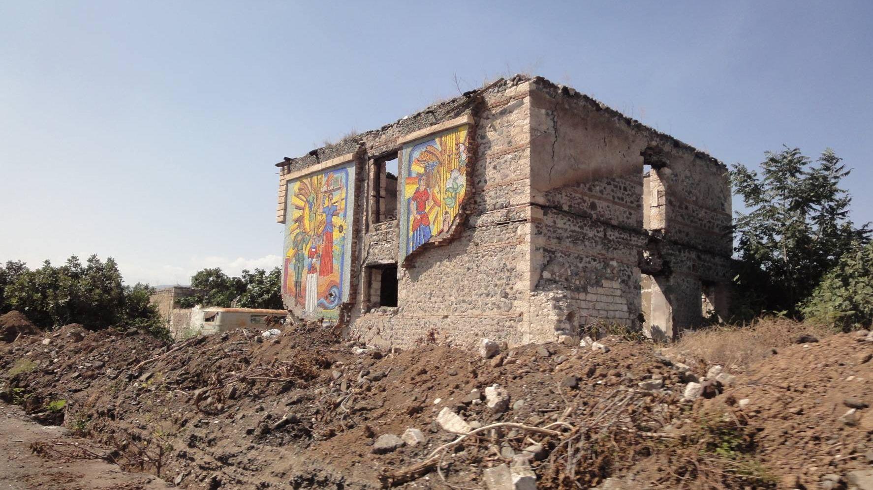 Музей хлеба. Агдам. Нагорный Карабах