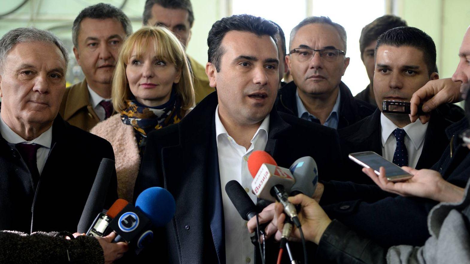 премьер-министр республики Македония Зоран Заев
