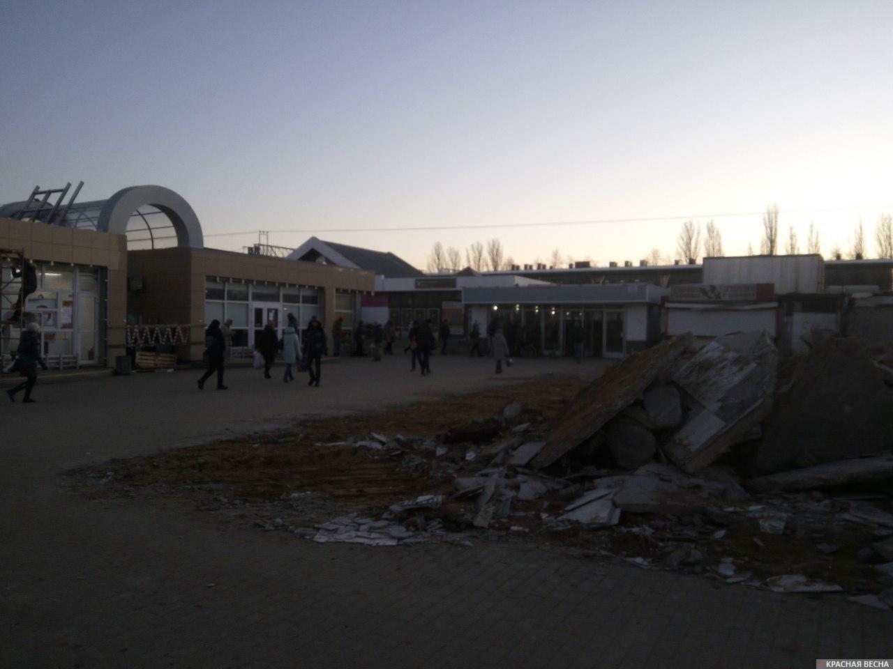 Ремонт вокзала в Подольске