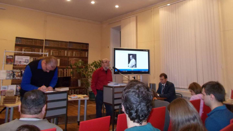 Обсуждение книги В.В. Есипова о Солженицыне