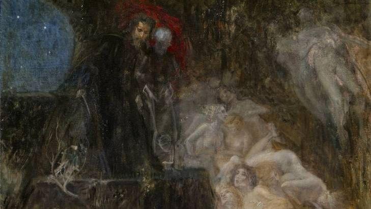 Эдуард Файт. Данте в аду. XIX век