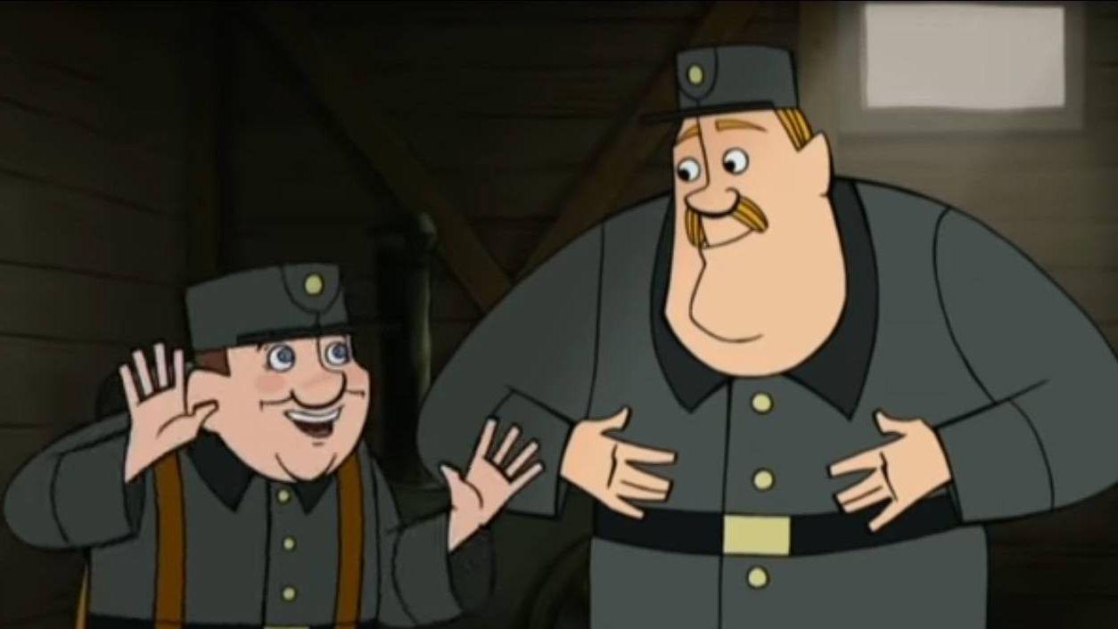 Бравый солдат Швейк и его друг