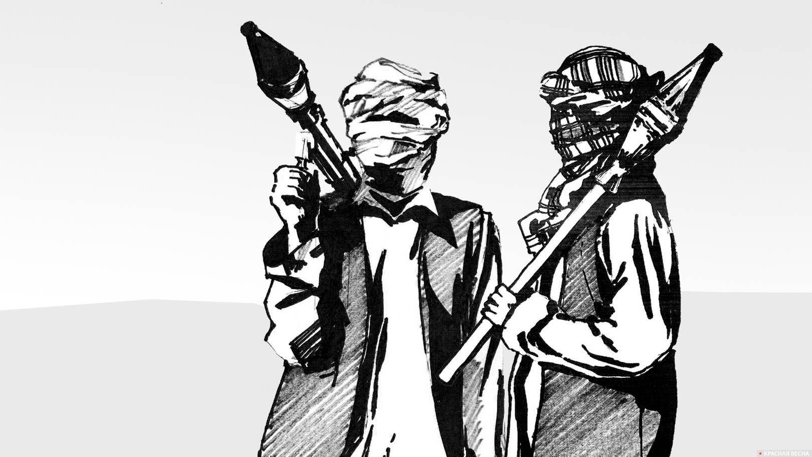 Рисунок талибы