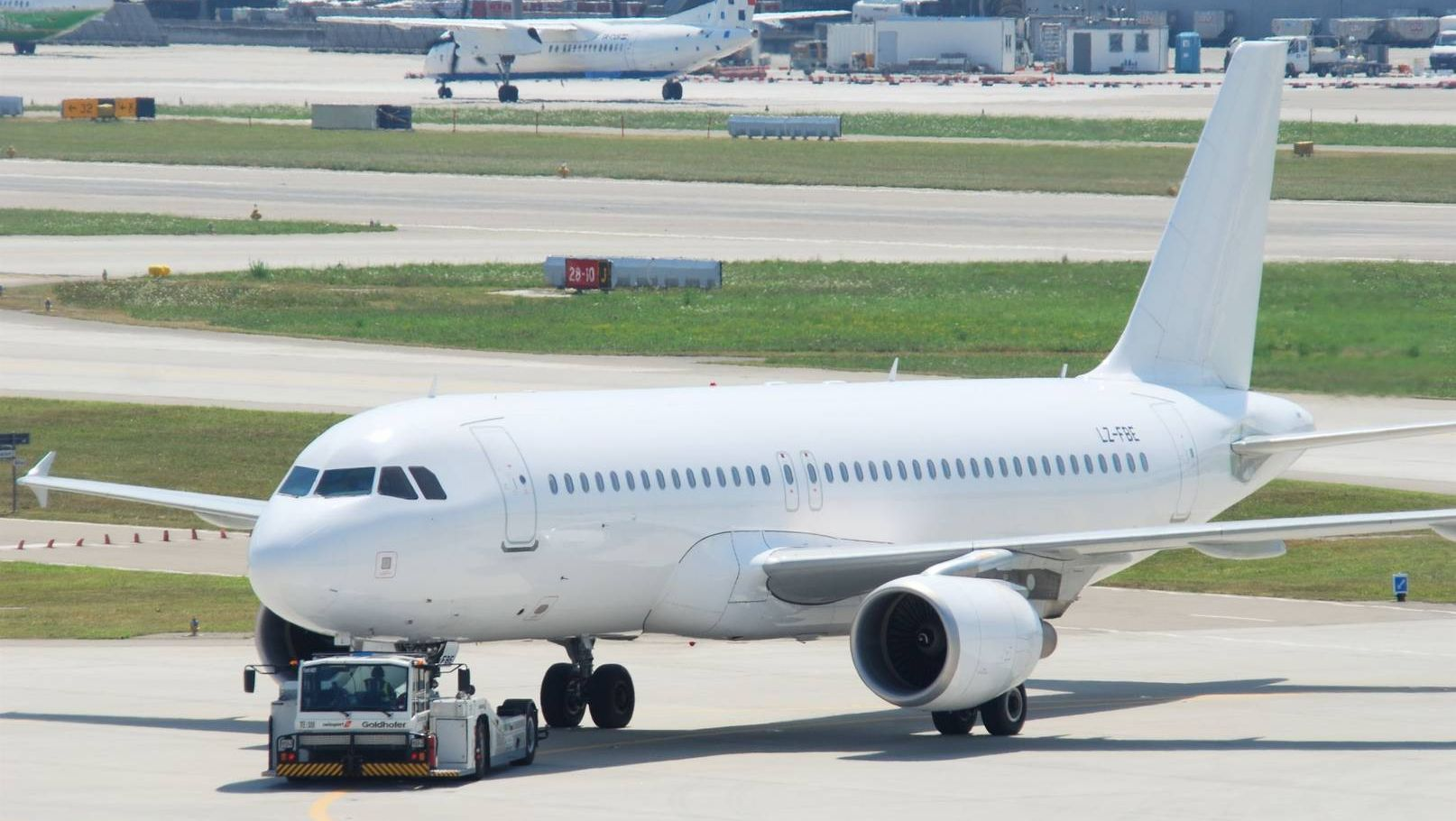 Airbus A320 авиакомпании Bulgaria Air