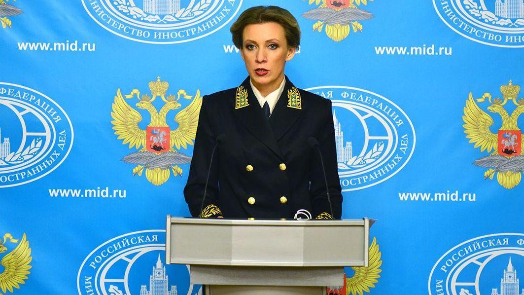 Захарова прокомментировала реакцию Госдепа нарешение ЦИК поНавальному
