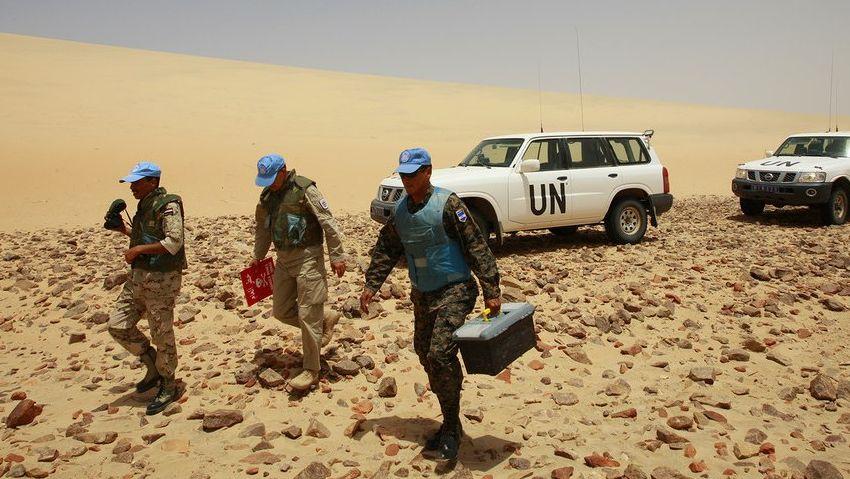 Представители ООН в Западной Сахаре