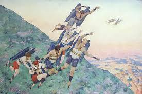 К.Ф. Юон. Люди будущего. 1929