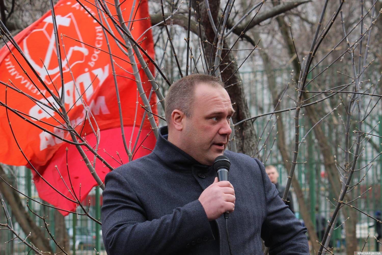 Юрий Дашков Межрегиональный профсоюз работников транспорта.