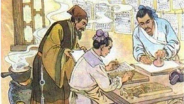 Книгопечатание в Китае. Рисунок