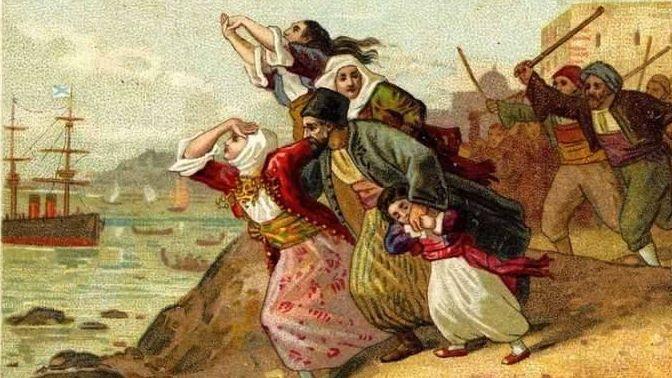 Армяне бегут от погромов в Турции