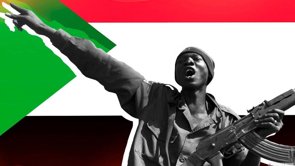 Судан. Госпереворот