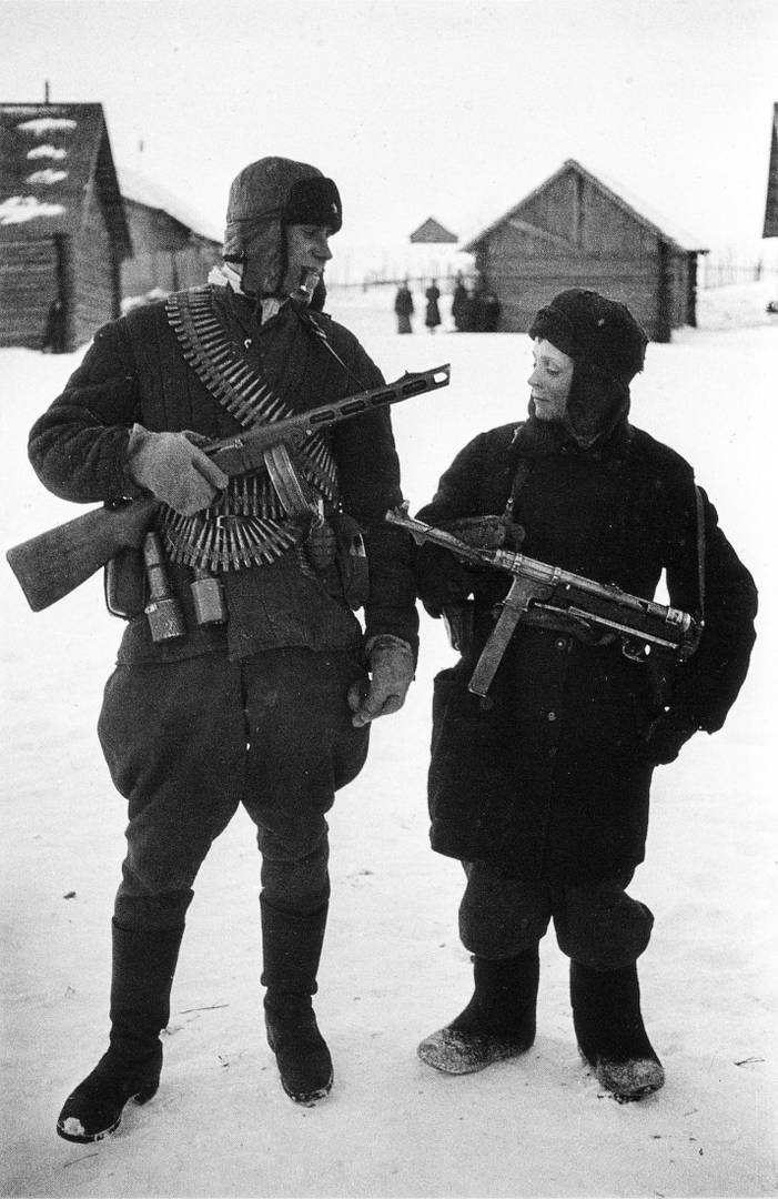 Борис Игнатович. Два партизана из Брянской области. 1943