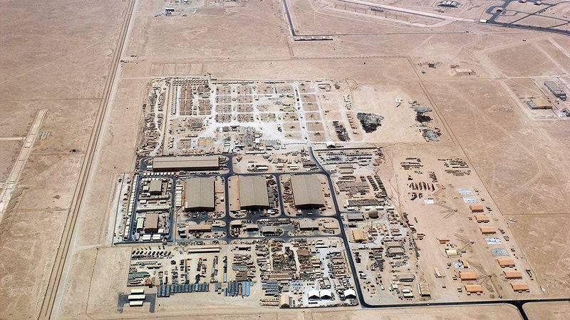 Американская авиабаза Эль-Удейд в Дохе