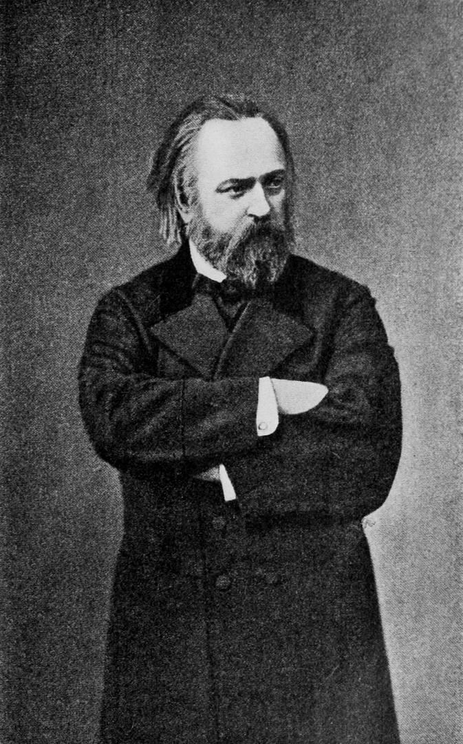 Александр Герцен. Ок. 1860