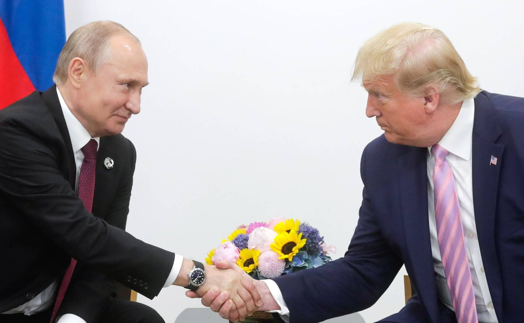 Встреча Владимира Путина с Дональдом Трампом