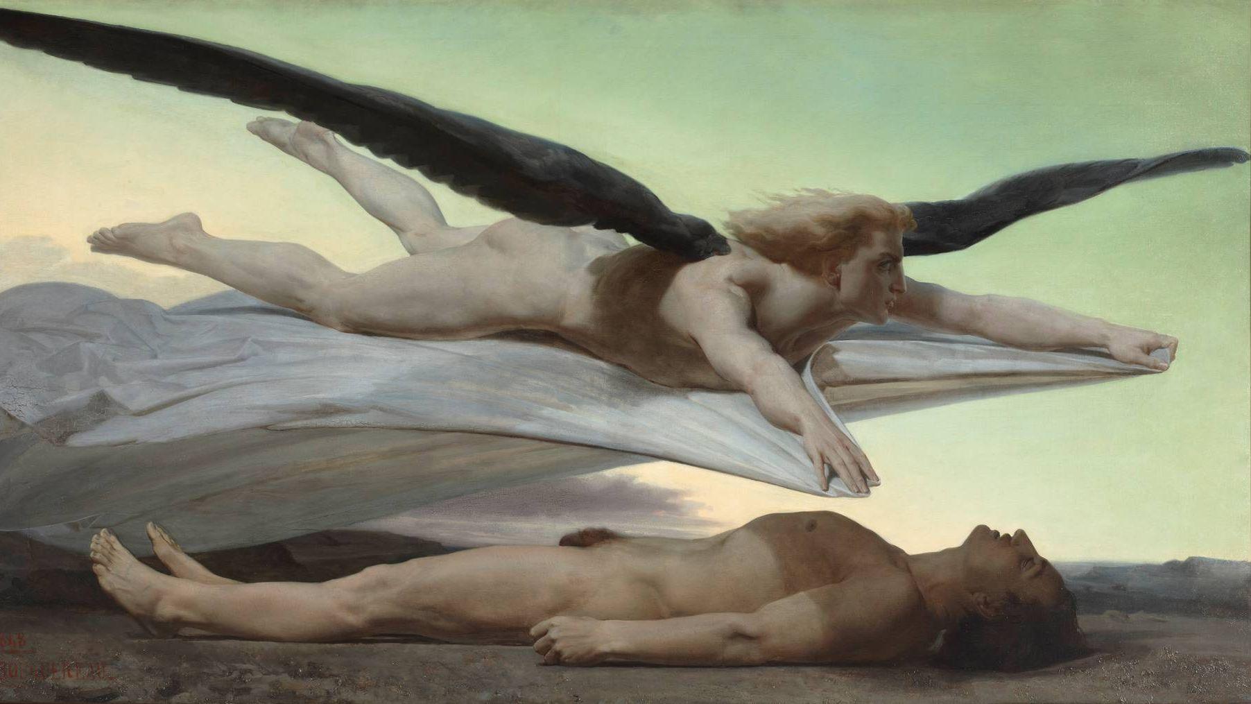 Бугро Вильям. Равенство перед смертью. 1848