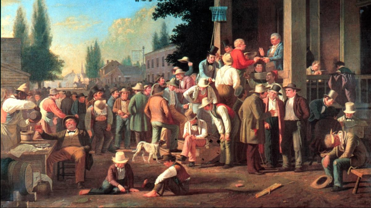 Джордж Калеб Бингем. Выборы в округе. 1846