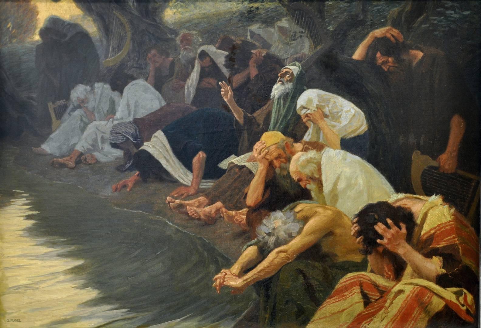 Гебхардт Фугель. На реках Вавилонских. 1920
