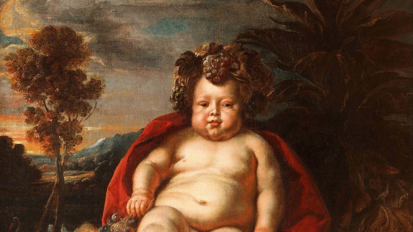 Йорданс Якоб. Вакх в младенчестве. 1640