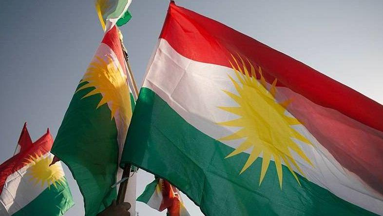 Флаги Иракского Курдистана