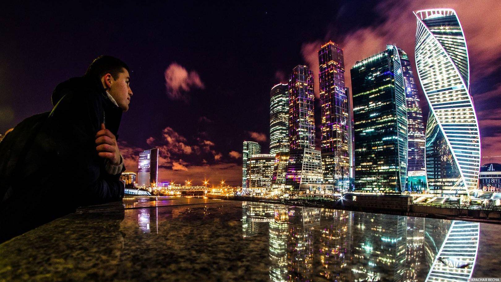 Взгляд на Москва-Сити