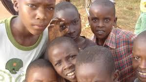 Африканские дети