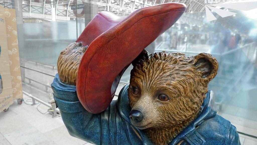 Вежливый медведь