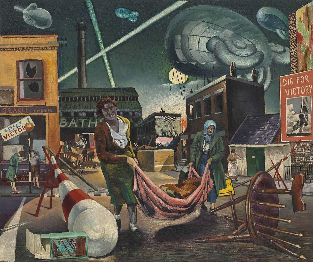 Клайв Брэнсон. Разбомбленные и прожектора. 1940