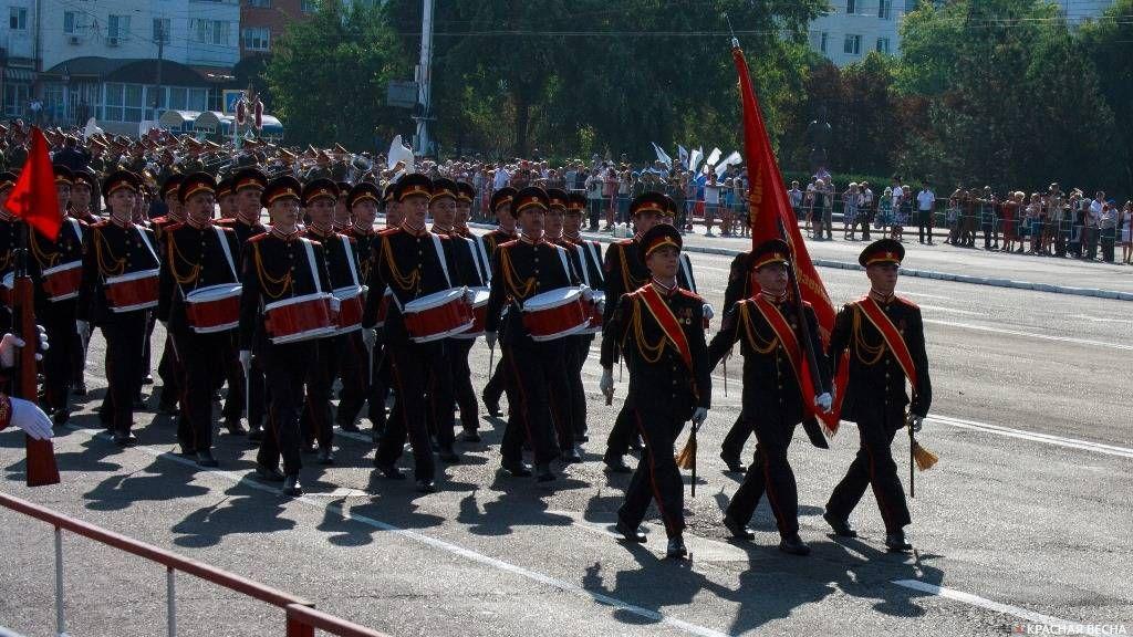 Тирасполь. Приднестровье. Военный парад