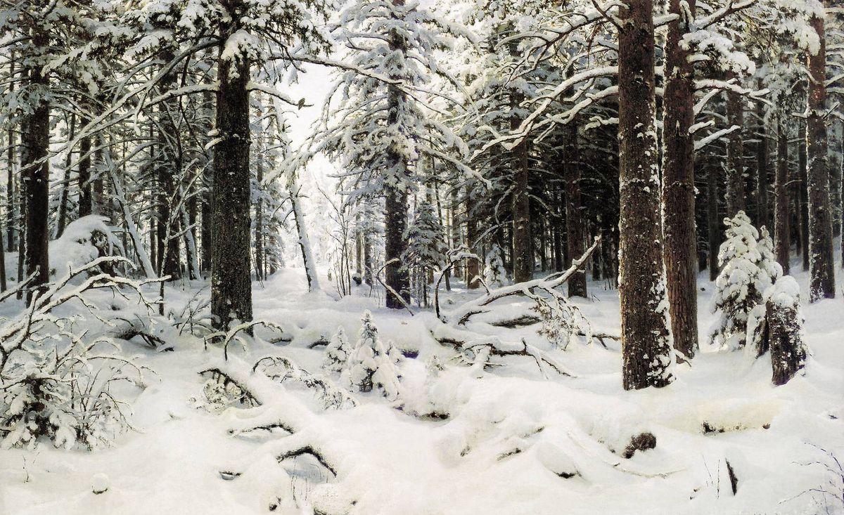 Иван Шишкин. Зима. 1890