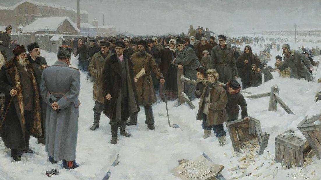 Куров Александр Михайлович и Александр Николаевич Шапошников. Морозовская стачка 1885 года. 1961