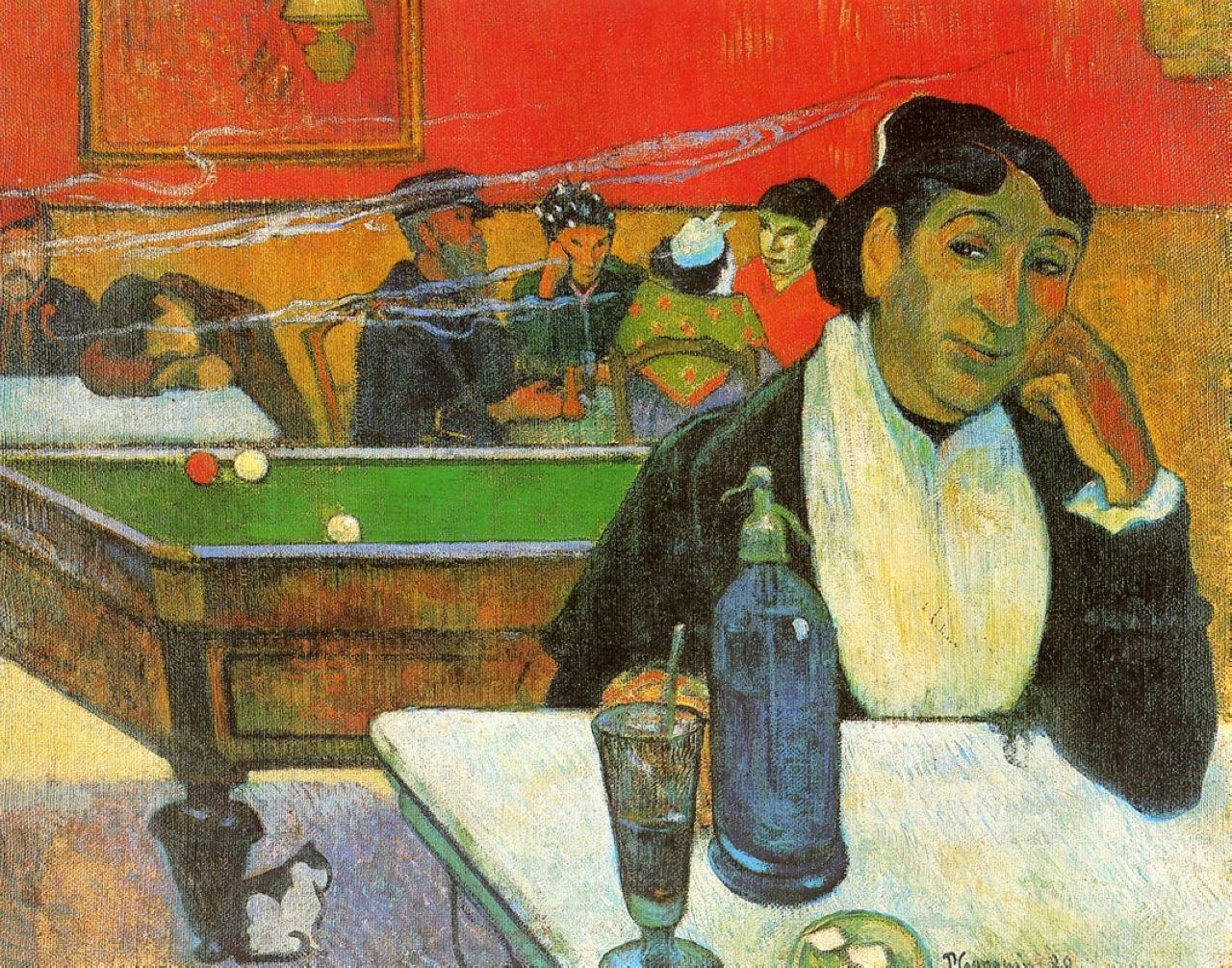 Винсент Ван Гог. Ночное кафе в Арле (Мадам Жину). 1888