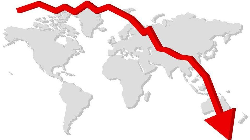 Фондовый рынок Китая обрушился после спада нафинансовых рынках США