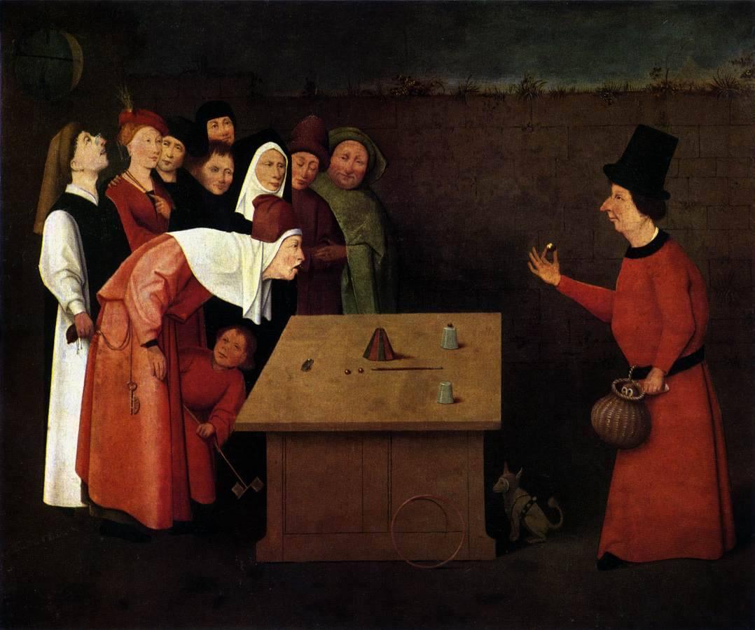 Картина «Фокусник» между 1496 и 1516 годами