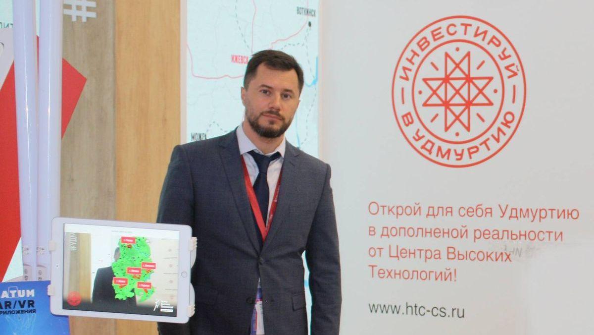 Руководитель делегации Удмуртской Республики Константин Сунцов