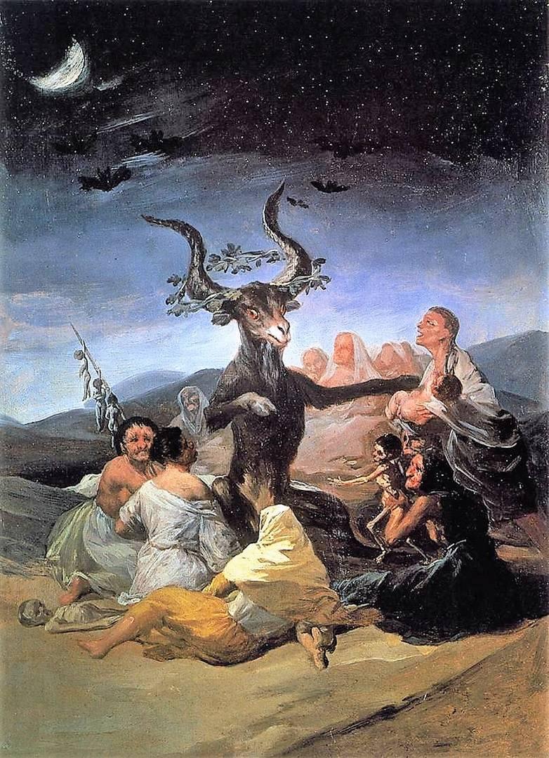 Франсиско де Гойя. Шабаш ведьм. 1789 год