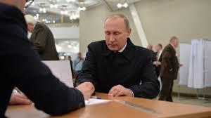 Путин огласил свое решение попрезидентским выборам