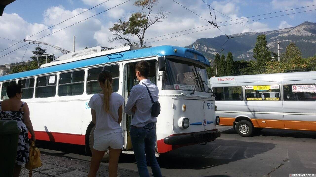 Крым Автобусная остановка