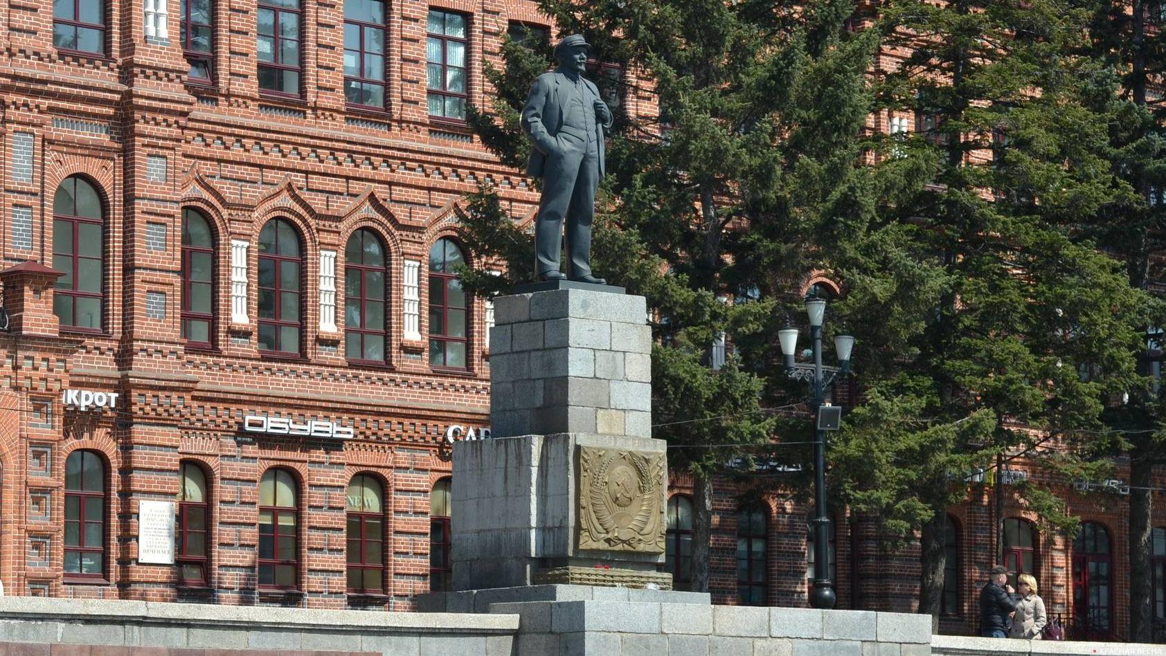 Памятник В. И. Ленину в Хабаровске
