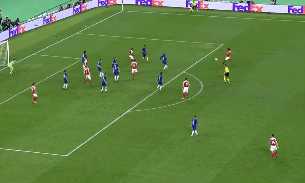 Через мгновение Арсенал забьет гол и счет станет 3-1. Цитата из прямой трансляции матча на канале «Матч ТВ»