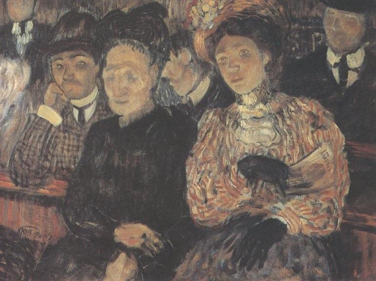 Кузьма Петров-Водкин. Театр. Драма. 1907