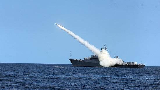 Расчеты ПВО Каспийской флотилии