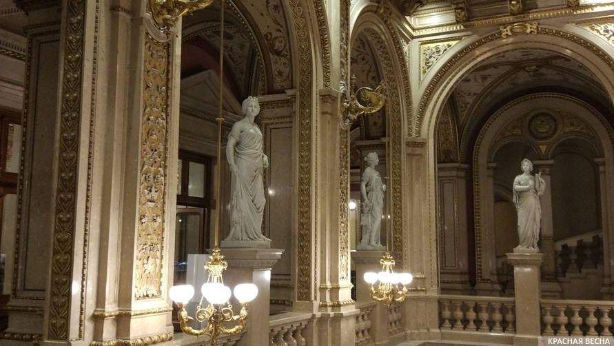 Опера. Вена Австрия