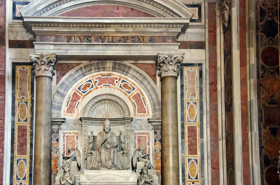 Ватикан. Базилика собора Петра и Павла