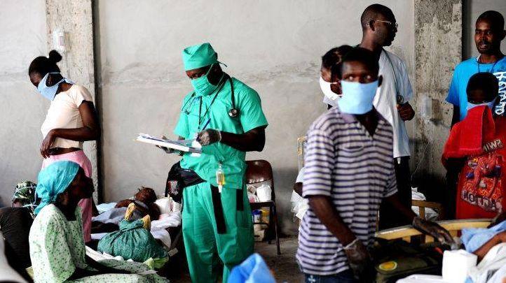 Лечебный госпиталь. Африка