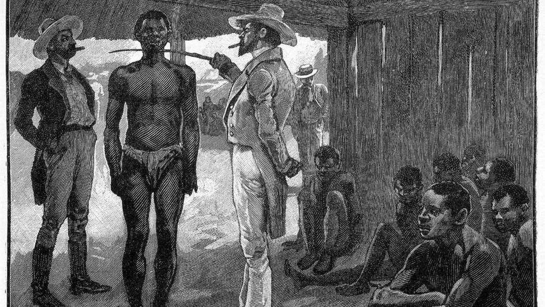 Покупка раба. 1837 год