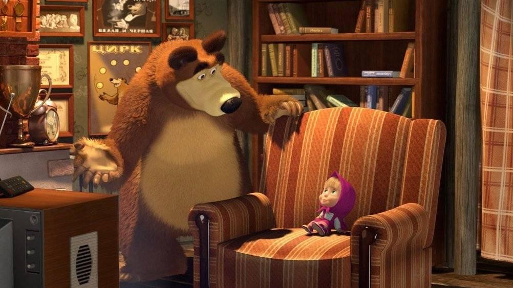 картинки на ночь маша и медведь информацию, как туда