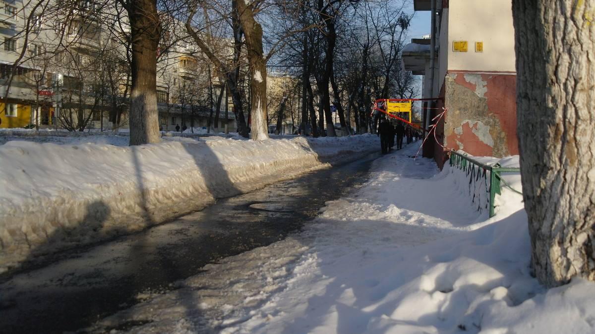 Москва. Авиамоторная улица